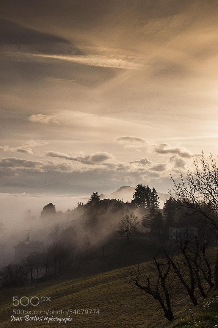 Photograph Oltre la nebbia by Ivan Bertusi on 500px