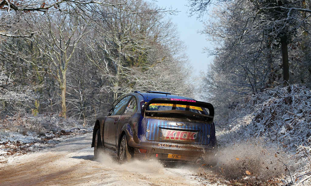 Photograph Ford Focus WRC - Wyedean Rally by Ben Gilbert on 500px