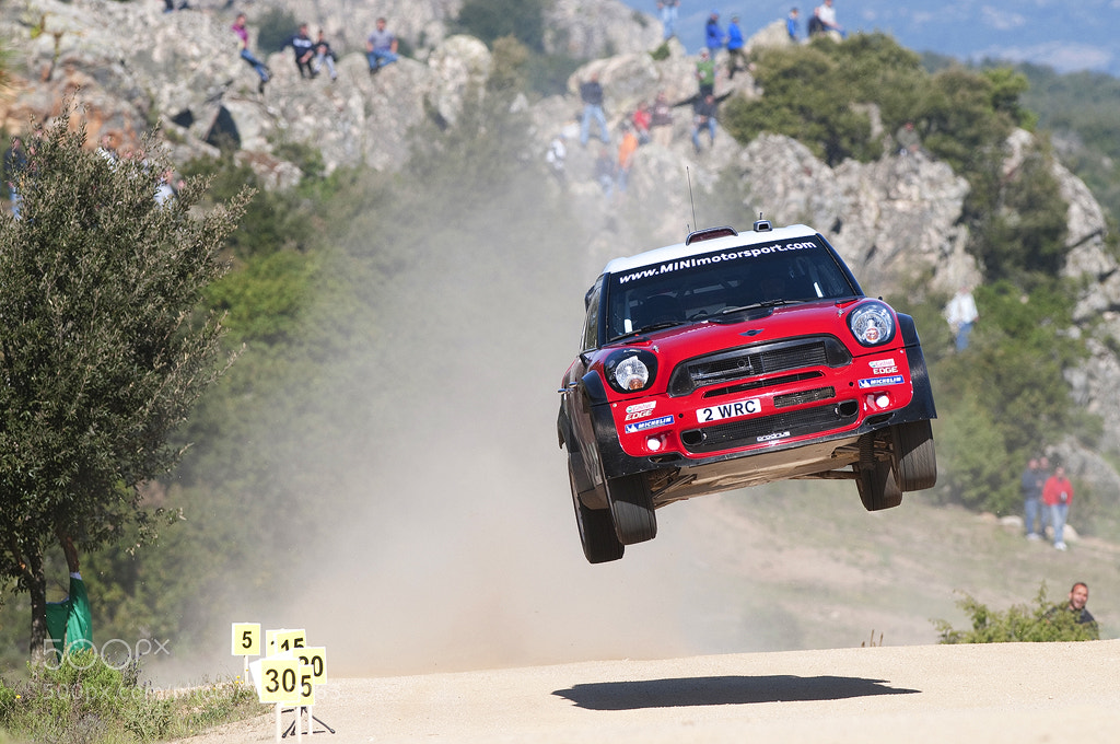 Photograph Kris Meeke - Rally Sardinia 2011 by Ben Gilbert on 500px