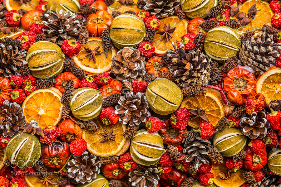 Photograph Christmas Fruits by Pete Franks on 500px