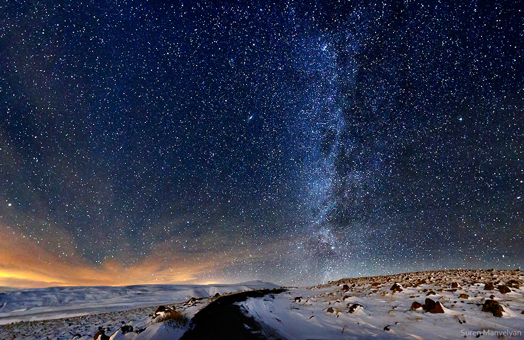 Photograph The road to the Milky Way by Suren Manvelyan on 500px