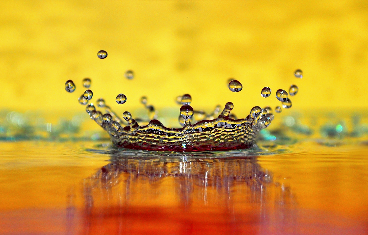 Photograph water crown by Kamil Marciniak on 500px