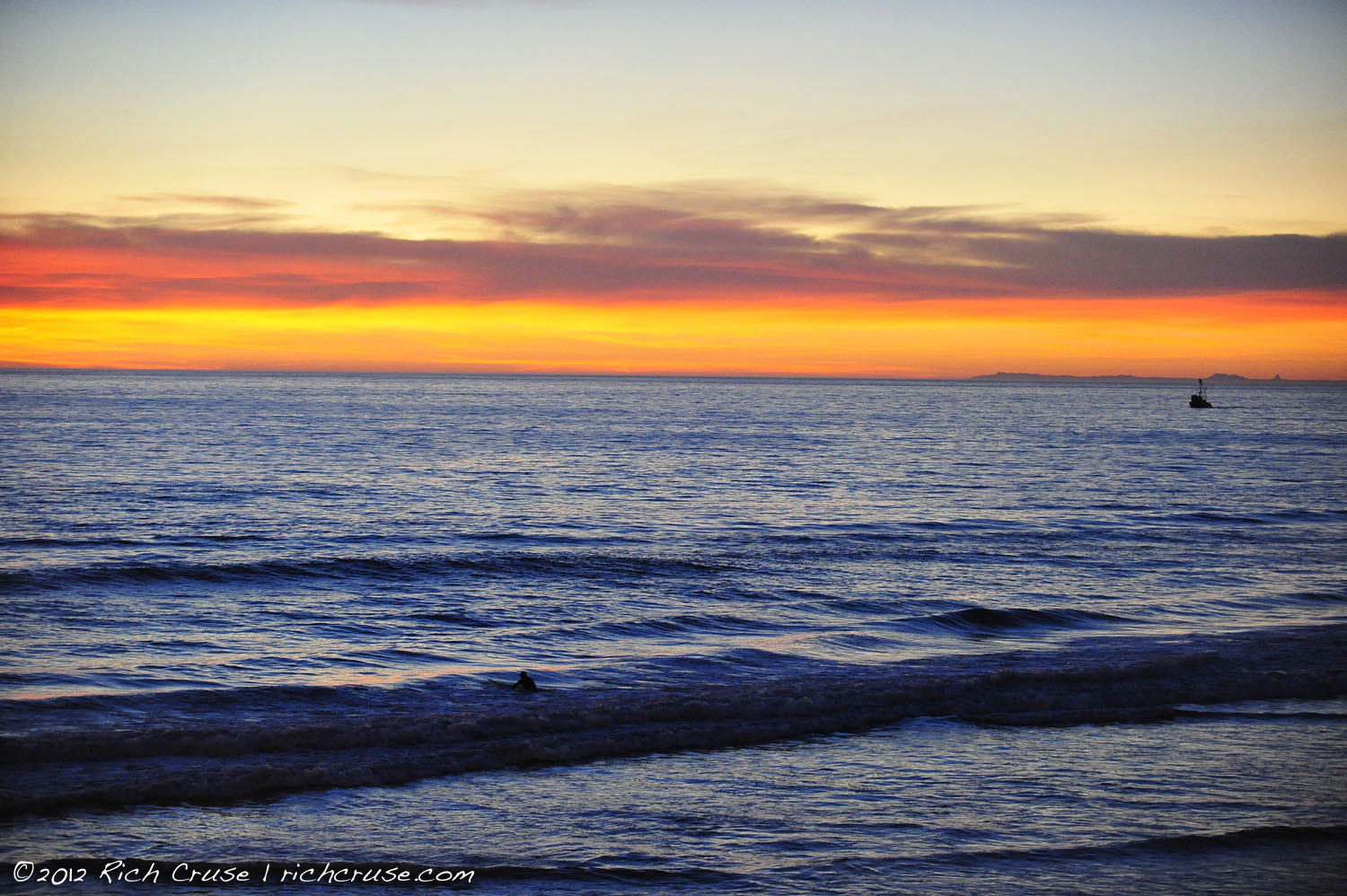 Photograph Oceanside February 22, 2012  by Rich Cruse on 500px