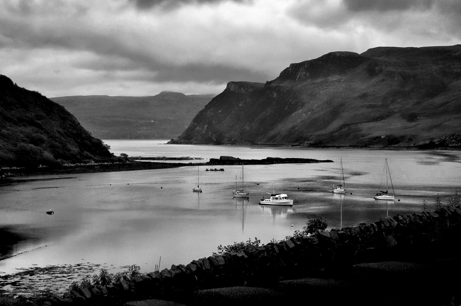 Evening at Portree