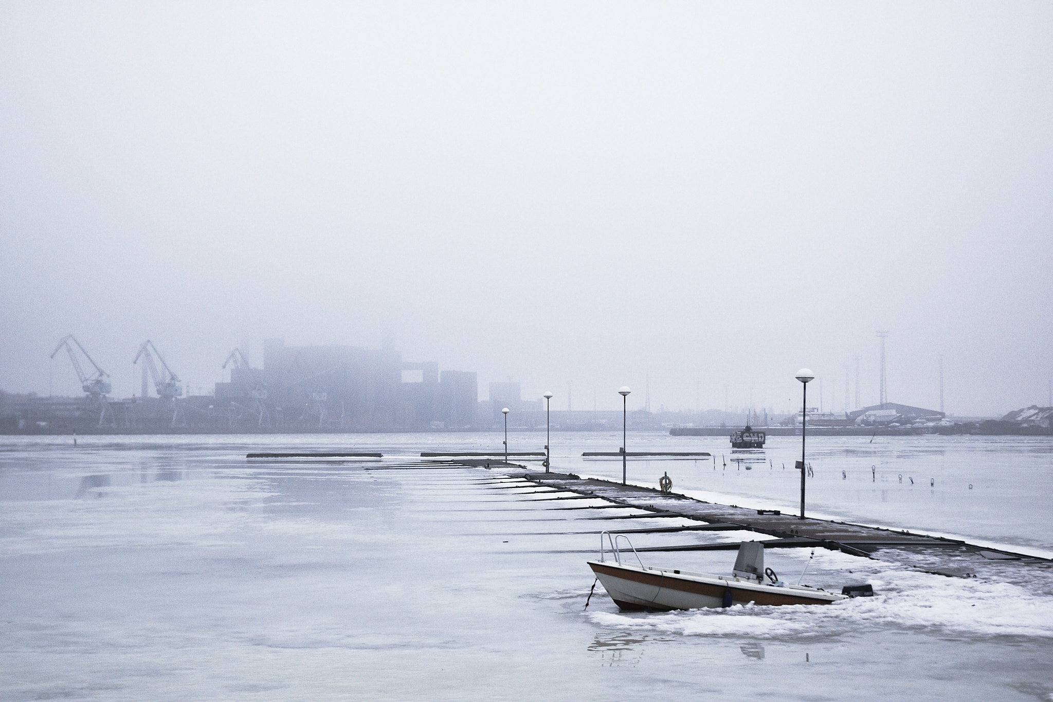 Photograph Foggy Helsinki by Mike m13/9 on 500px