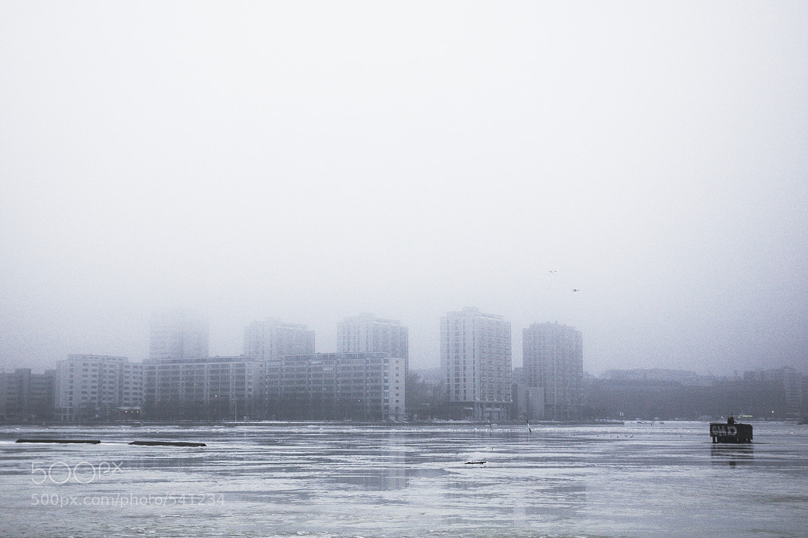 Photograph Foggy Helsinki 2 by Mike m13/9 on 500px