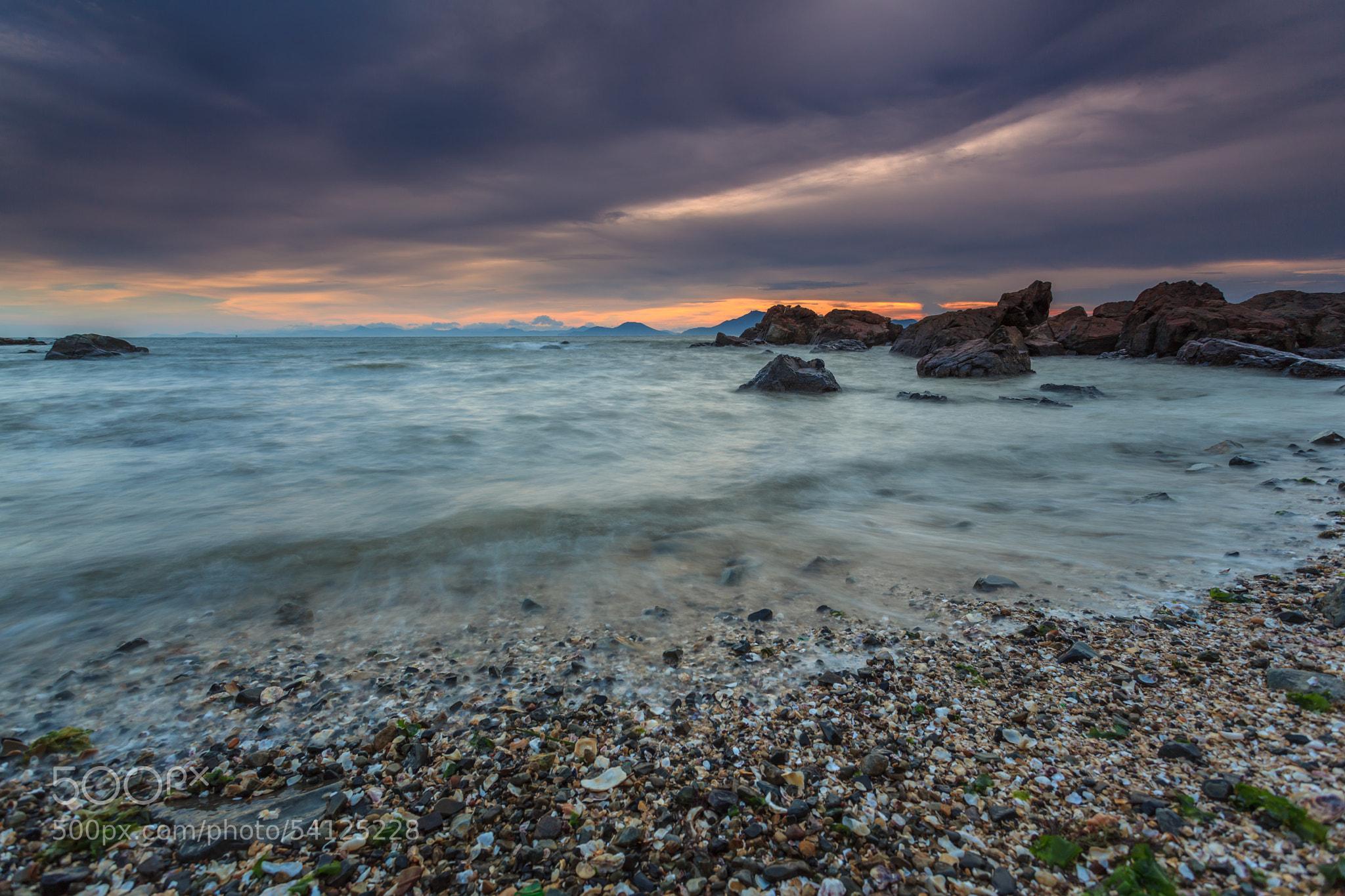 Photograph Sunset at Dadaepo by Emelianenko Dmitrii on 500px