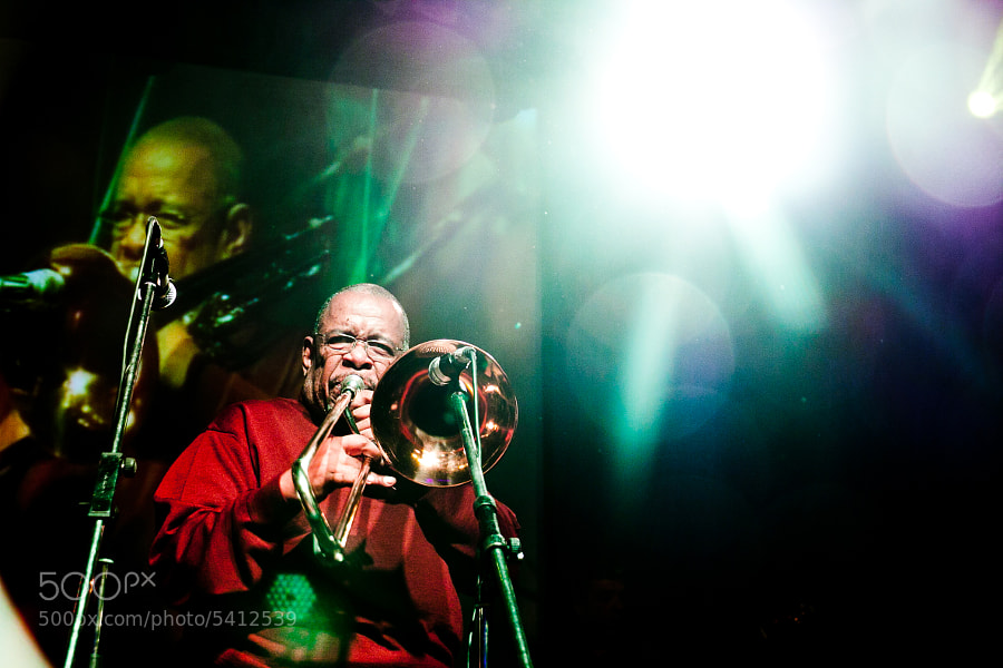 Photograph Fred Wesley by Евгения Остроумова on 500px