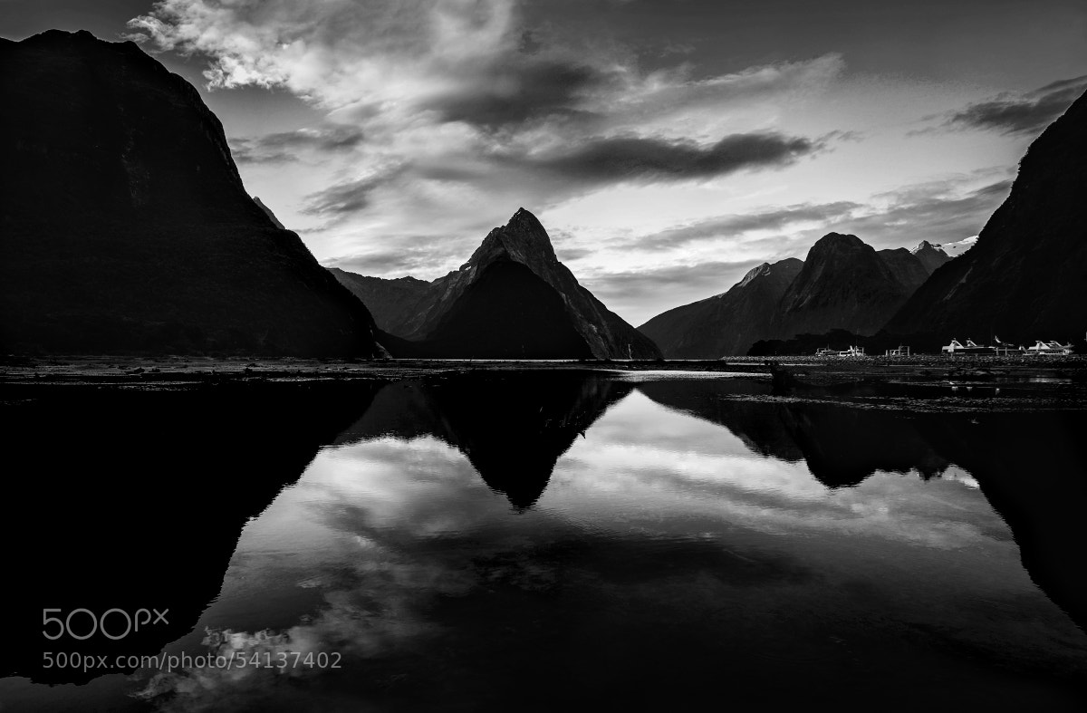 Photograph Milford Sound by Bibi Veth on 500px