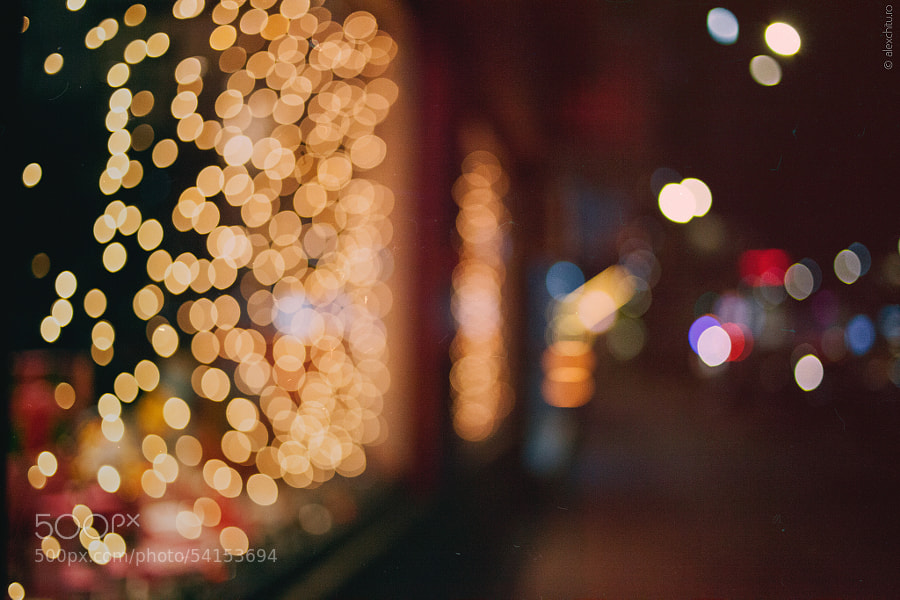Photograph Christmas lights by Alexandru Chițu on 500px