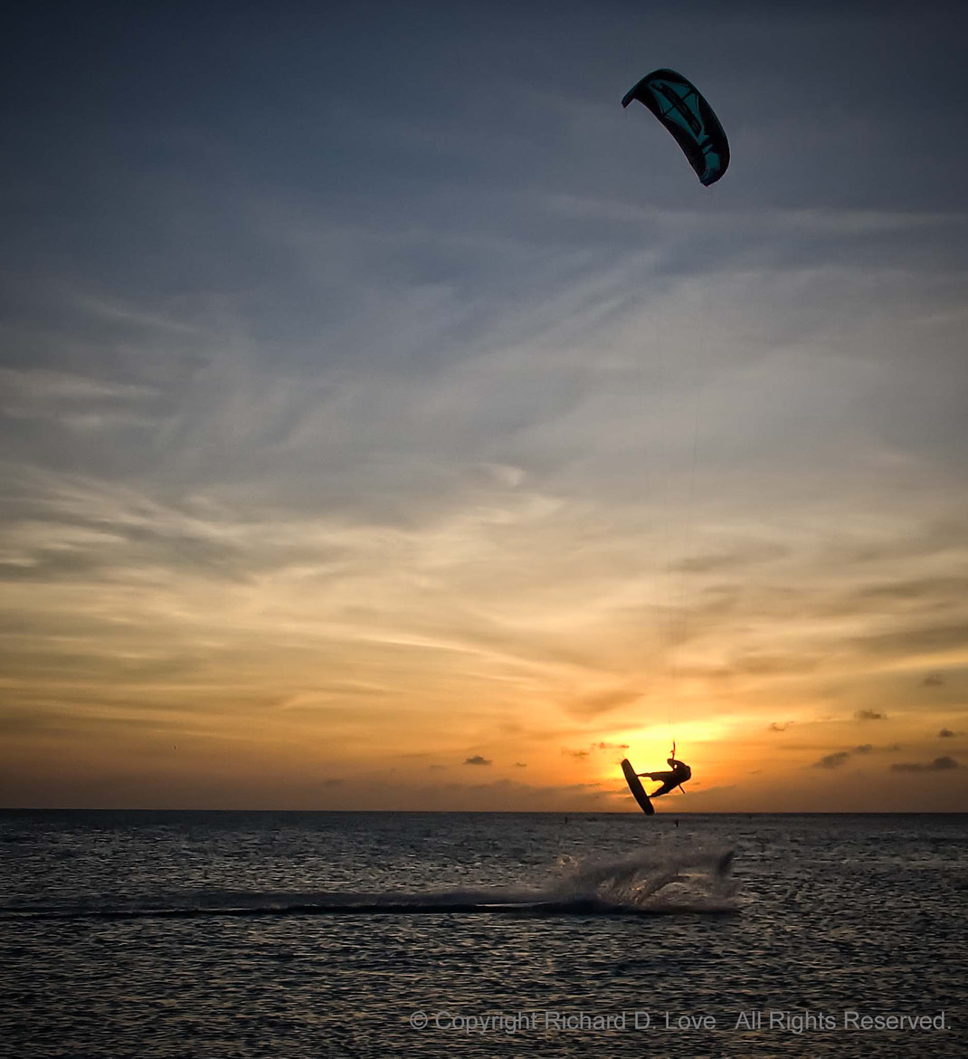 Photograph Kitesurfing in Aruba! by Richard Love on 500px
