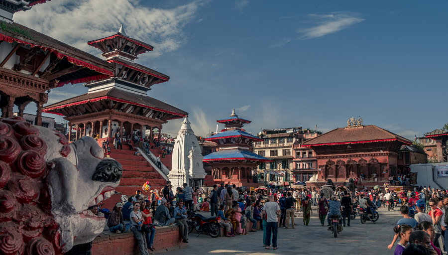 2.- Kathmandu Durbar Square by David Ruiz Luna on 500px.com