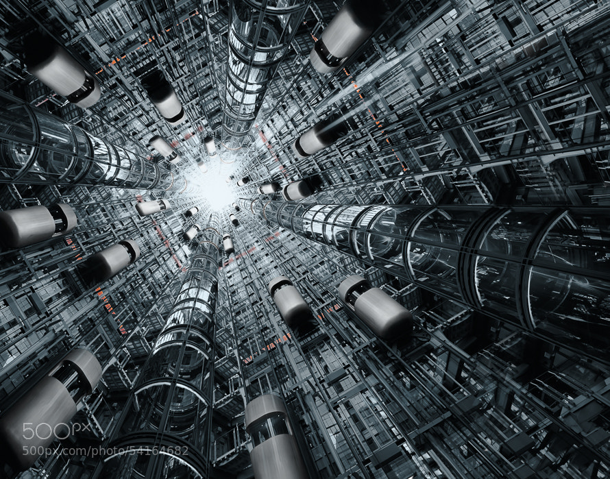 Photograph Reunited - Borg City III by PK °Art on 500px