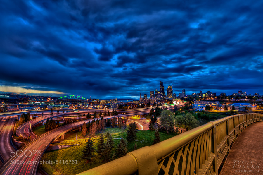 Photograph Emerald City Blues by Tyson Poeckh on 500px