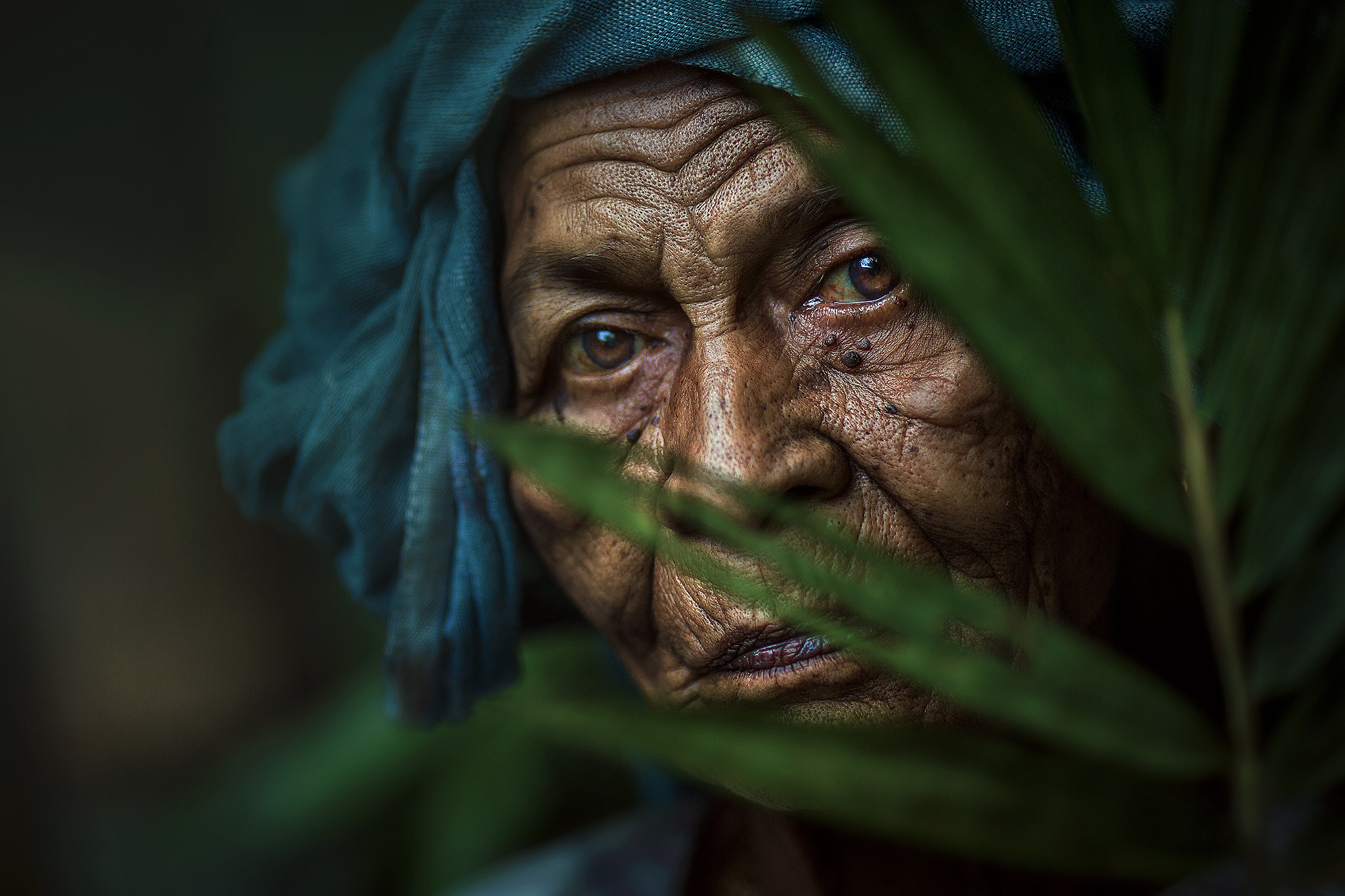 Photograph MAMA ESAH BEHIND THE BAMBOO FOREST by abe less on 500px