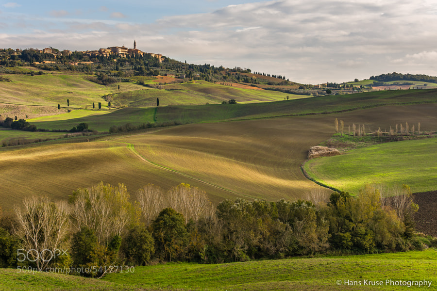 This photo was shot during the Tuscany November 2013 photo workshop in Val d'Orcia.