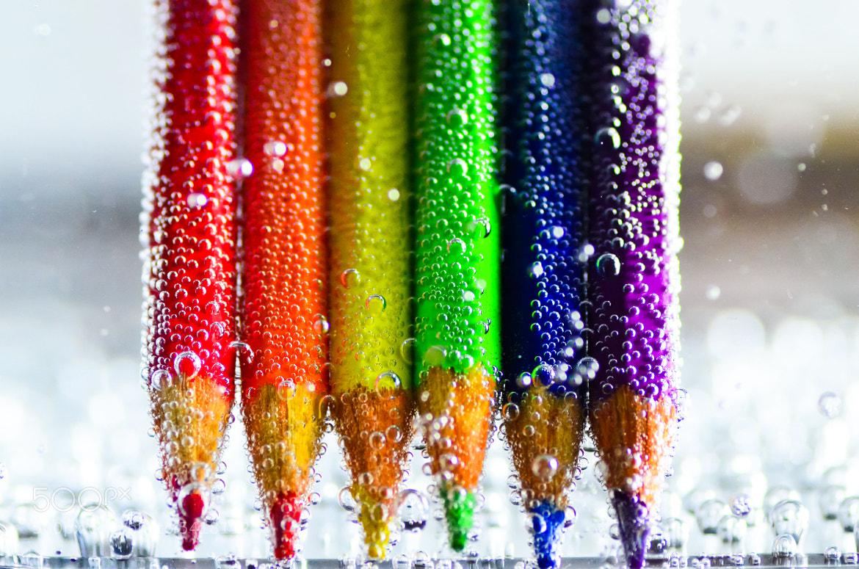 Photograph Liquid pencils by Sergio Quesada on 500px