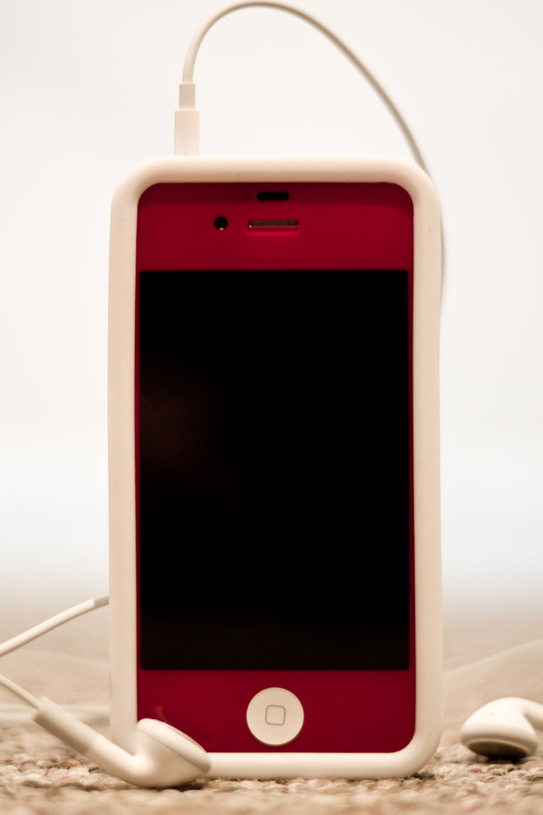 Photograph Red iPhone 4S by Eric Fryc on 500px