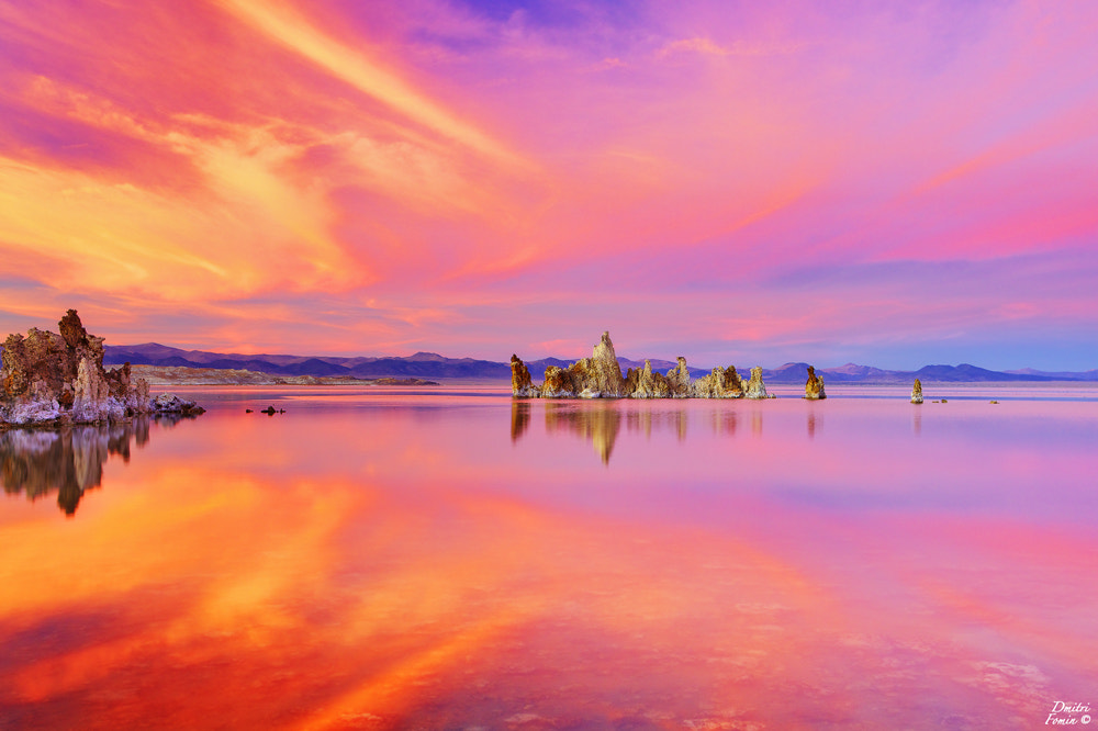Photograph Mono lake in color by Dmitri Fomin on 500px
