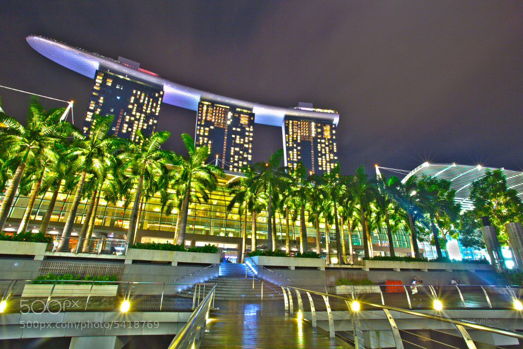 Photograph Marina Bay Sands by Mario Tapilouw on 500px