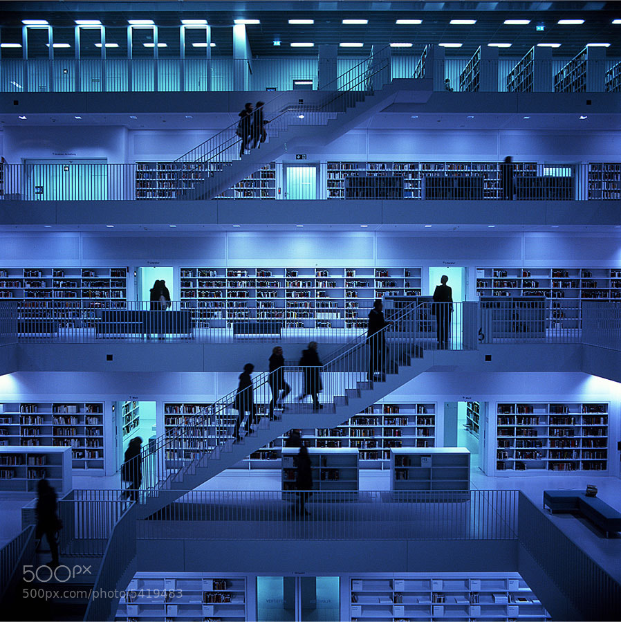 Photograph City Library by Shu Koumura on 500px