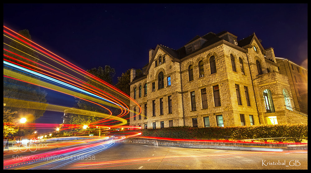 Photograph Virginia Tech at nigth by Kristobal Gudenschwager  on 500px