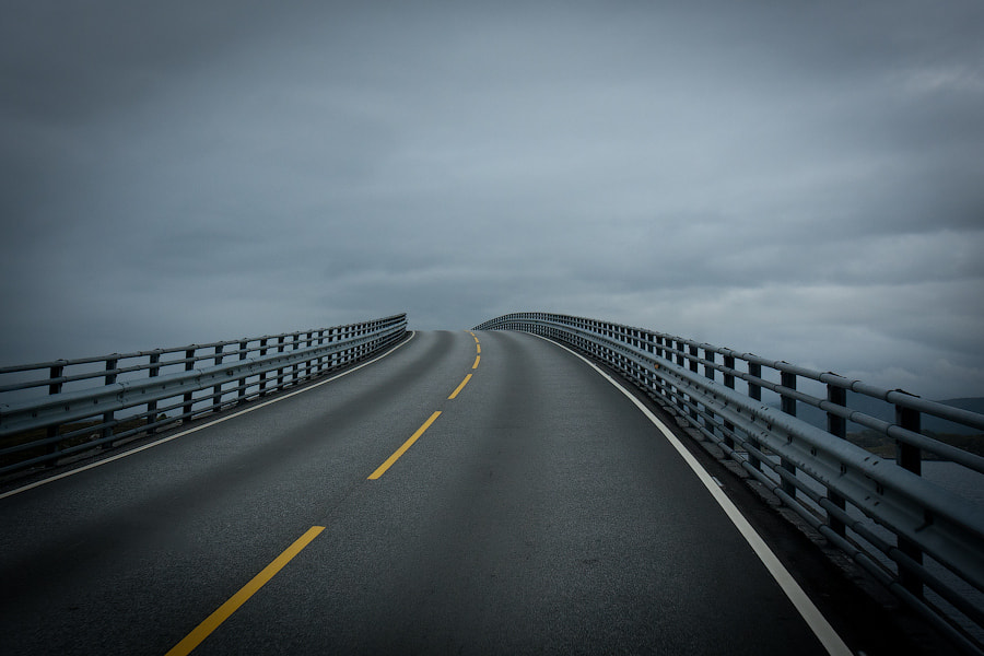 Photograph Road to nowhere by Alexander Dragunov on 500px