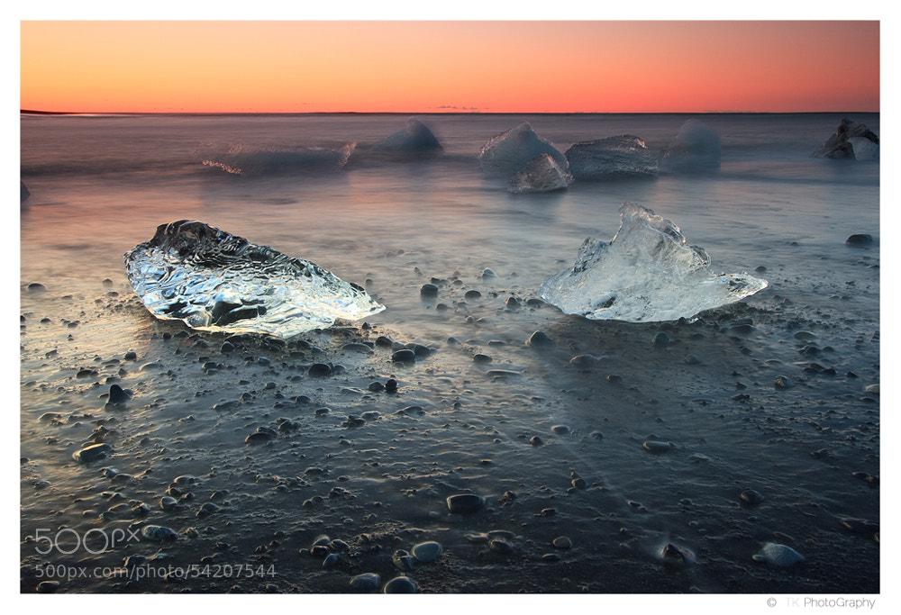 Photograph Jokulsárlón Sunrise by Tobi K on 500px