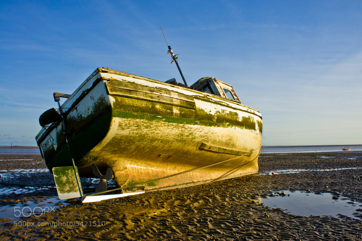 Photograph Tired Boat by Sam Mellor-Clark on 500px