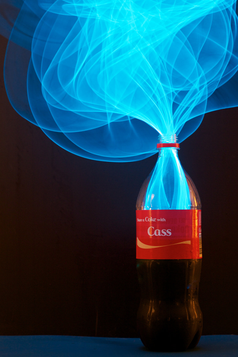 Photograph Sharing a coke with Cassie by Michael  Goh on 500px