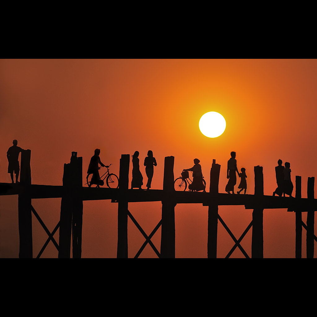 Photograph U Bein Bridge by Malcolm Fackender on 500px