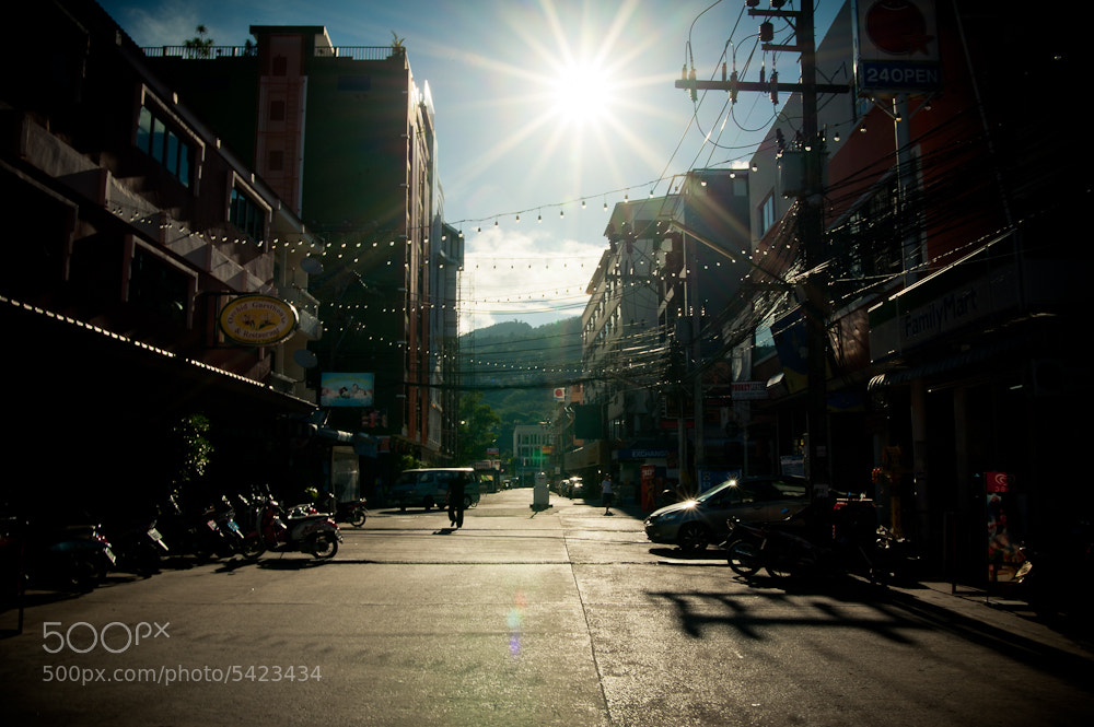 Photograph Patong Beach-street by Kamarulsahrin Katis on 500px