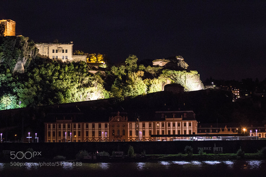Ehrenbreitstein Fortress by Kai Thrun on 500px.com