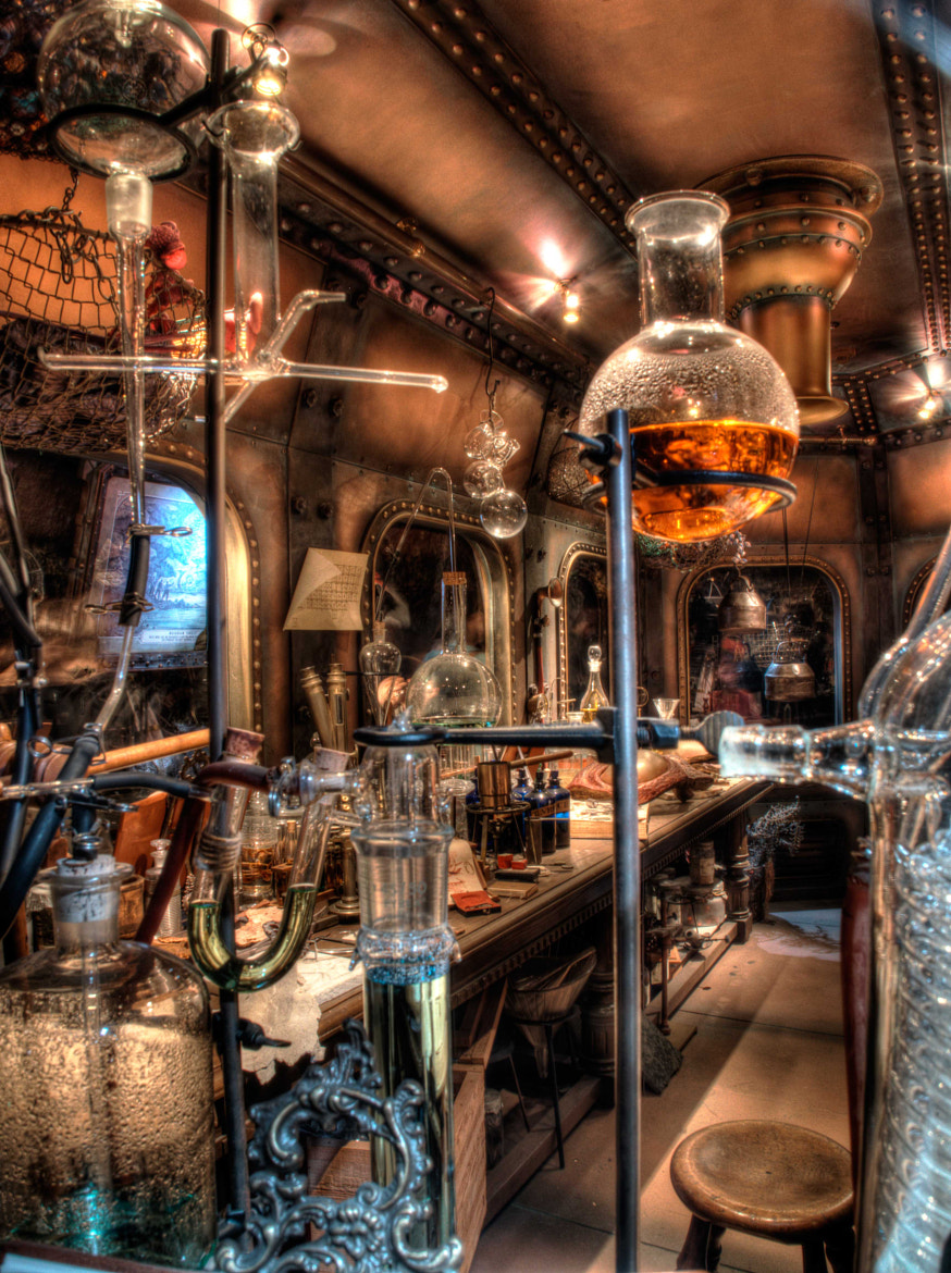 Photograph Mad Scientist Lab by Richard Harrington on 500px