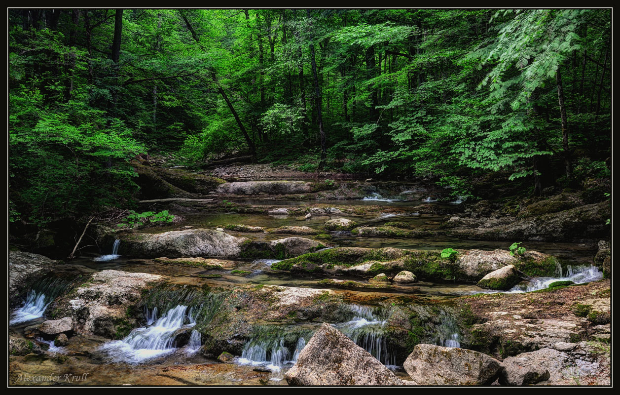 Photograph On steps of a mountain stream... by Alexander Krull on 500px