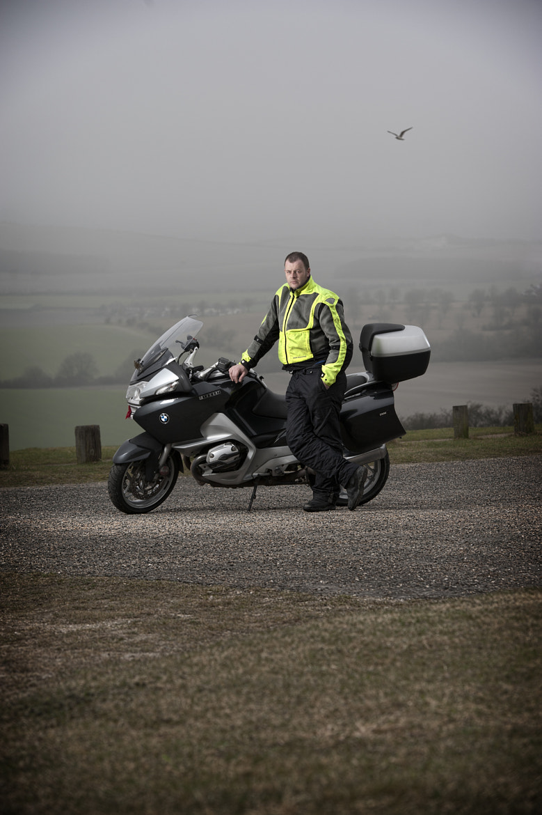 Photograph Lee Snowden with his BMW 1200 RT by Lee Ramsden on 500px