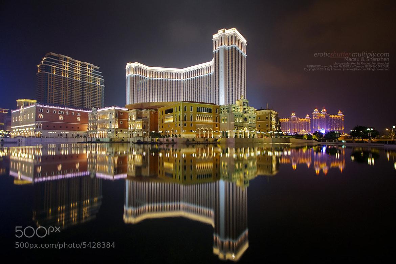 Photograph Macau Night View by Phataraphol Worachat on 500px
