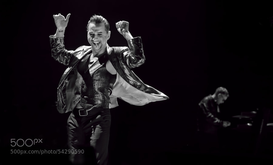 Photograph Depeche Mode by Luuk Denekamp on 500px