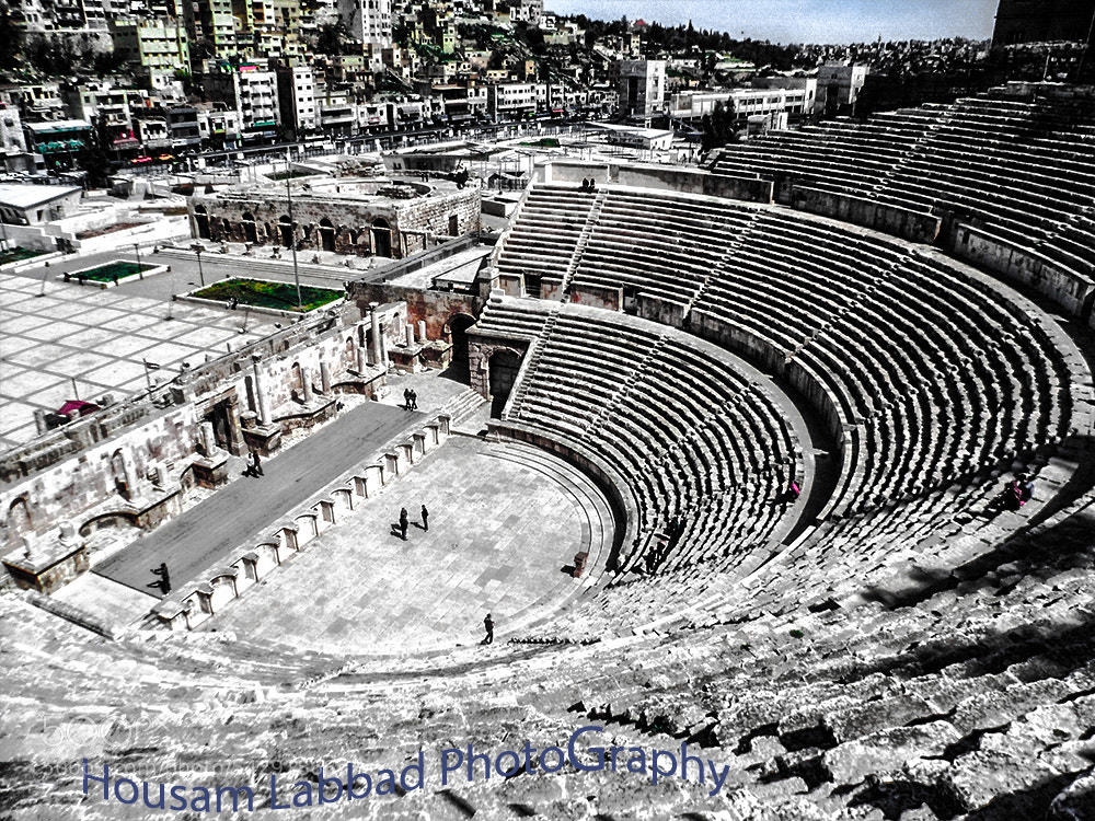 Photograph Roman theater by Housam A Labbad on 500px