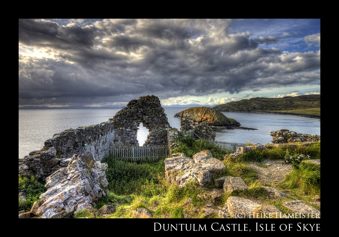 Photograph Duntulm Castle by Heike Hameister on 500px