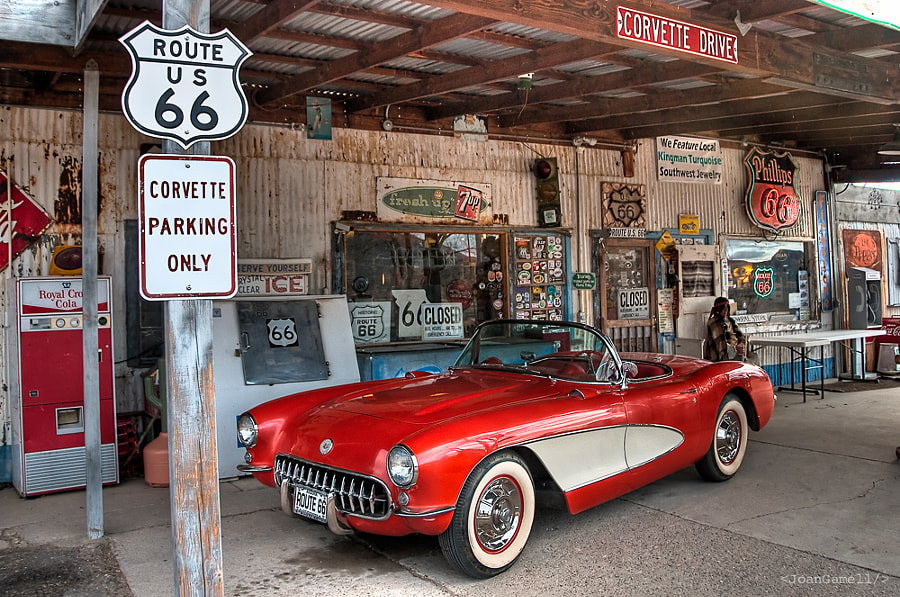 Hackberry, Route 66 by Joan Gamell on 500px.com