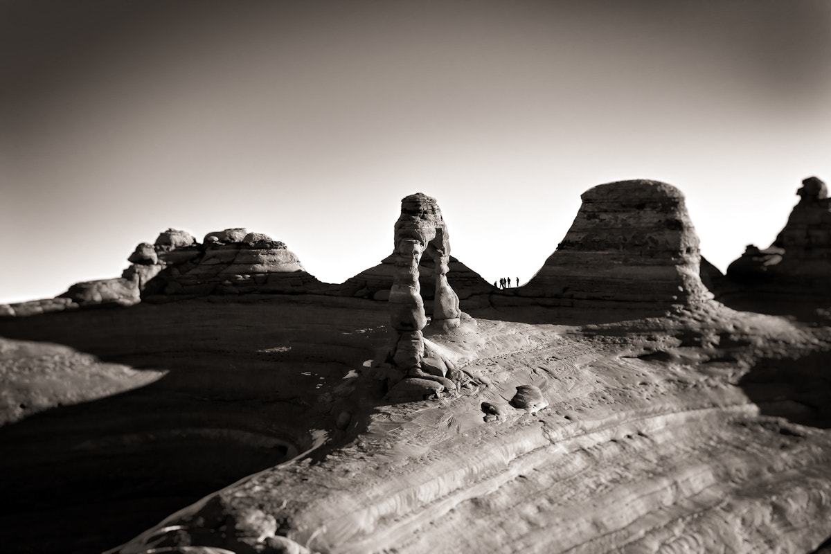 Photograph Delicate Arch Hikers by Erik Unger on 500px