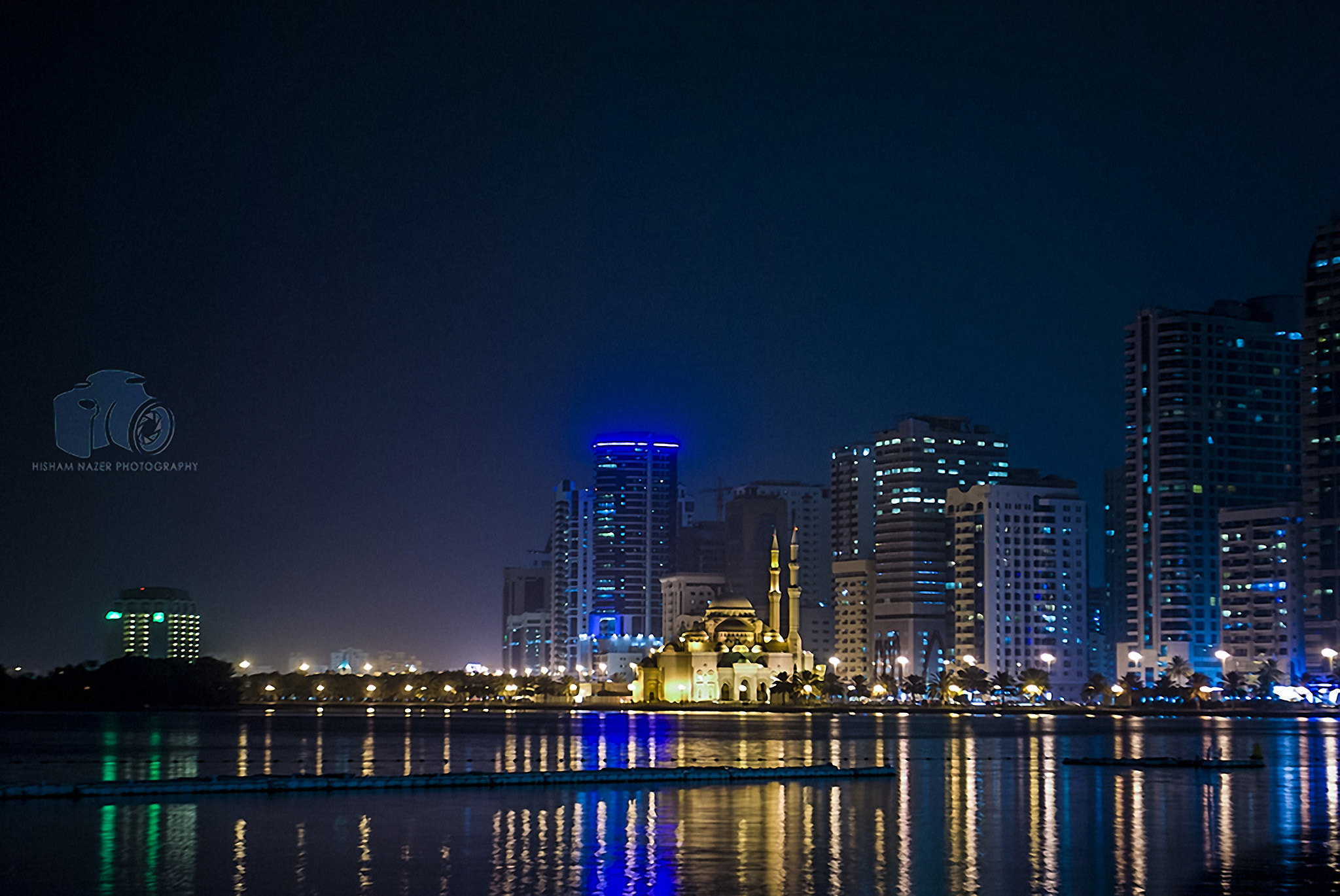 Photograph Golden City of Sharjah by Hisham Nazer on 500px