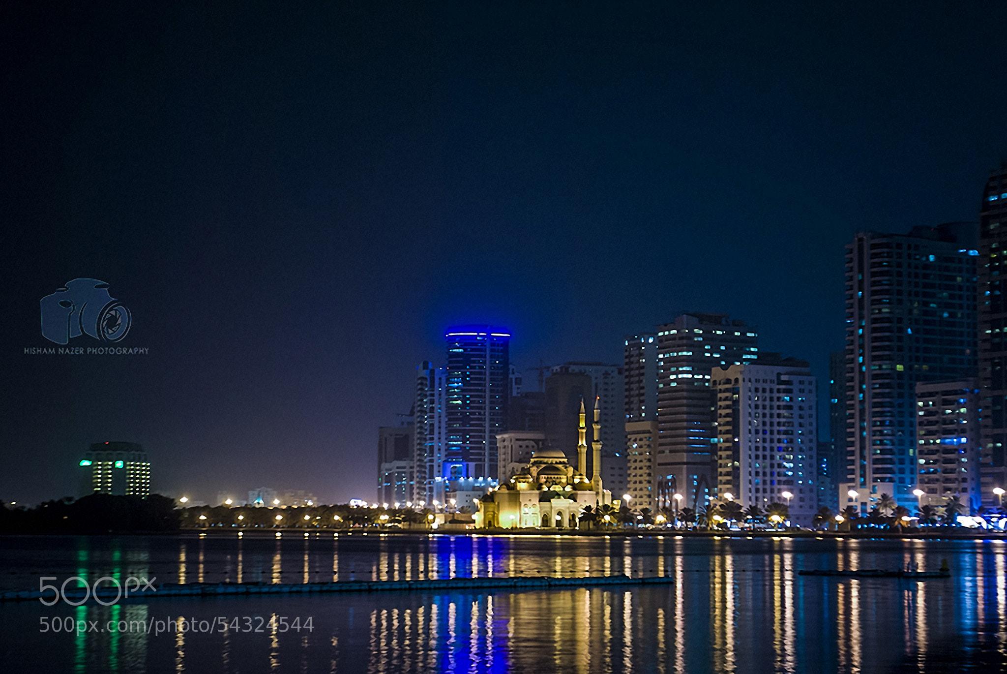 Photograph Golden City of Sharjah by Hisham Nazer on 500px