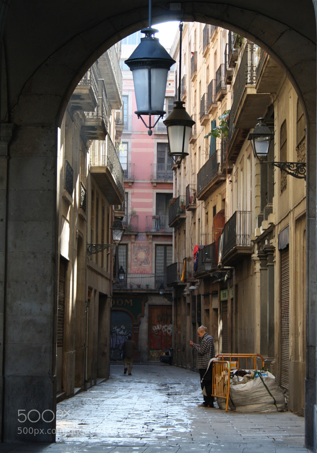 Photograph Barcelona, little street by Cedric Buisson on 500px