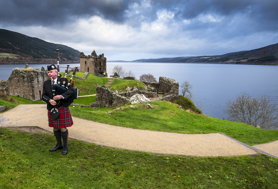 Urquhart Castle, Loch Ness by Sajid Ahmed on 500px.com