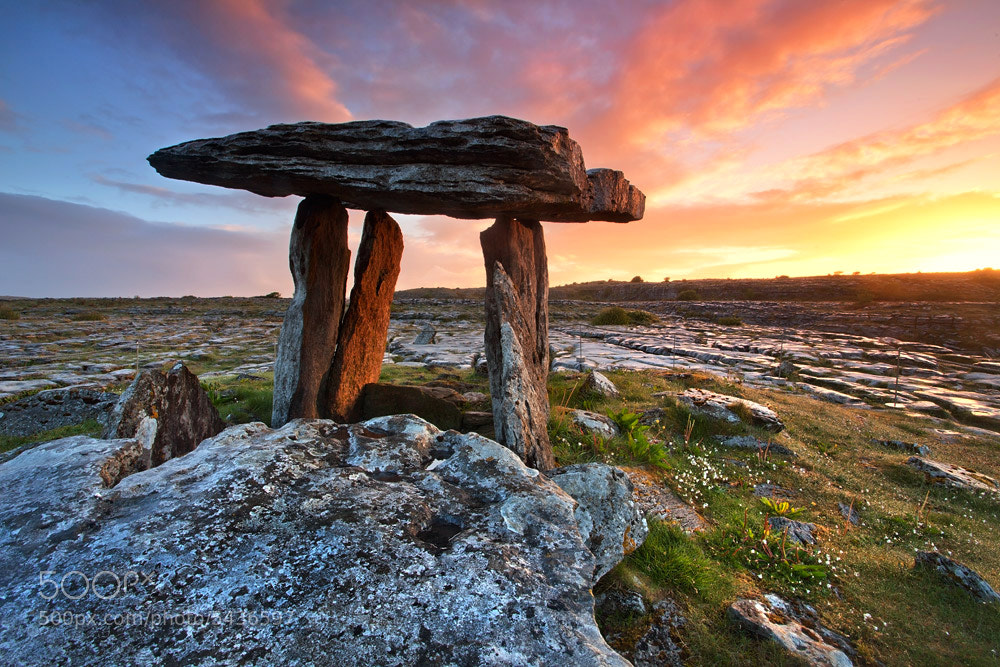 Photograph Fires of the Burren by Stephen Emerson on 500px