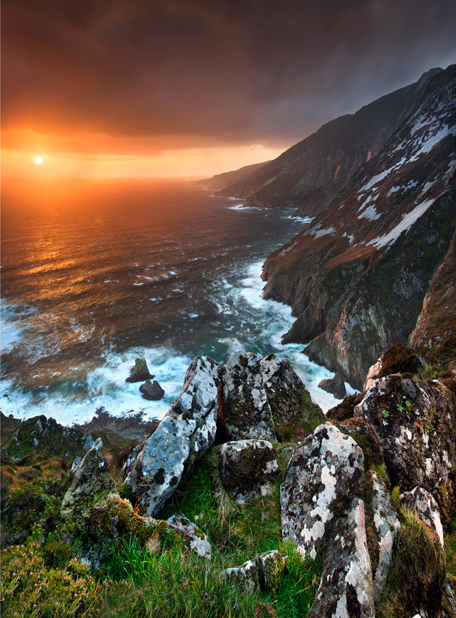Photograph Slieve League Sunset by Stephen Emerson on 500px