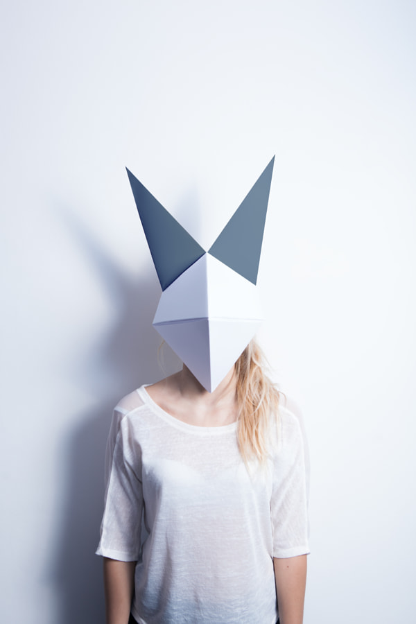 Origami Mask by Luca Garello on 500px.com