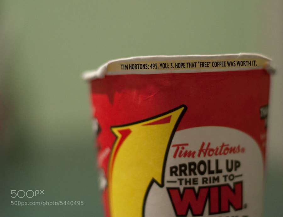 Photograph Rrroll Up The Rim by Kevin Gamble on 500px